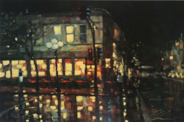 City Reflections 2005  Limited Edition Print by Michael Flohr