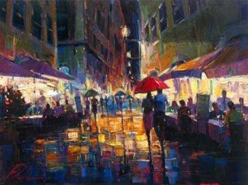 Italian Rain 2010 Embellished Limited Edition Print - Michael Flohr