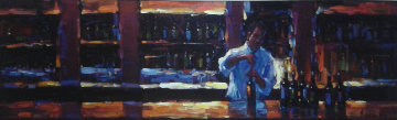 Uncorked 2007 Embellished Limited Edition Print - Michael Flohr