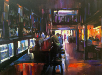 Cheers 2006 Embellished Limited Edition Print by Michael Flohr