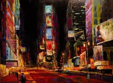 Good Times Square  Limited Edition Print - Michael Flohr