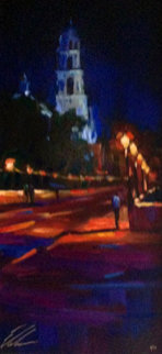 Bell Tower 2006 Embellished Limited Edition Print - Michael Flohr