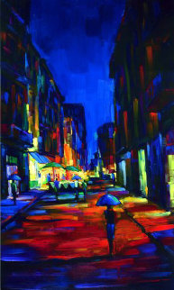 When in Rome 2006 Embellished Limited Edition Print by Michael Flohr