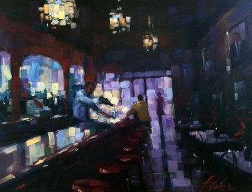 Grand Entrance  40x50 Huge Original Painting - Michael Flohr