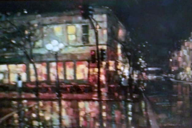 City Reflections 2005 Embellished Limited Edition Print by Michael Flohr