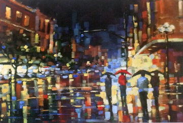 Staccato Rain 2003 Limited Edition Print - Michael Flohr