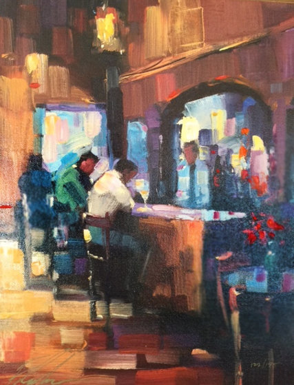 Serendipity Suite (Lady Luck And Good Medicine) Set of 2 Embellished 2004 Limited Edition Print by Michael Flohr