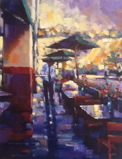 Lunch Date 2004 Embellished Limited Edition Print by Michael Flohr