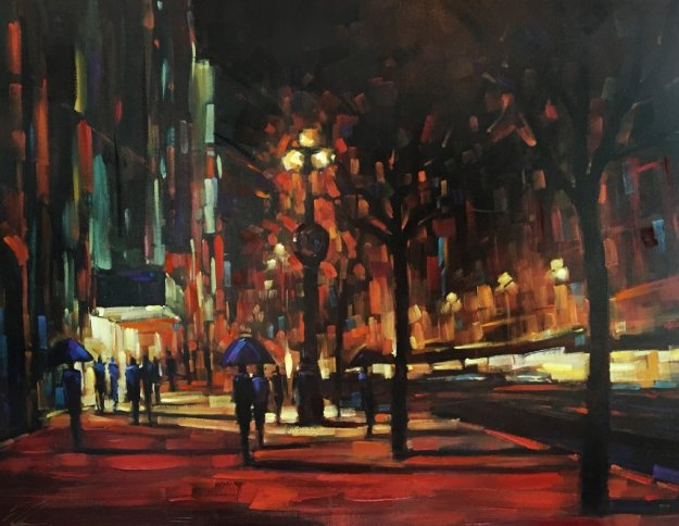 Timeless Moment Embellished 2006 Limited Edition Print by Michael Flohr