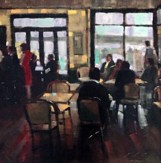 Red Dress Embellished AP #1 Limited Edition Print by Michael Flohr