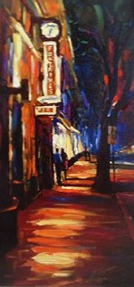 Fontaines 2007 Embellished  Limited Edition Print - Michael Flohr