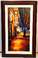 Fontaines 2007 Embellished  Limited Edition Print by Michael Flohr - 1