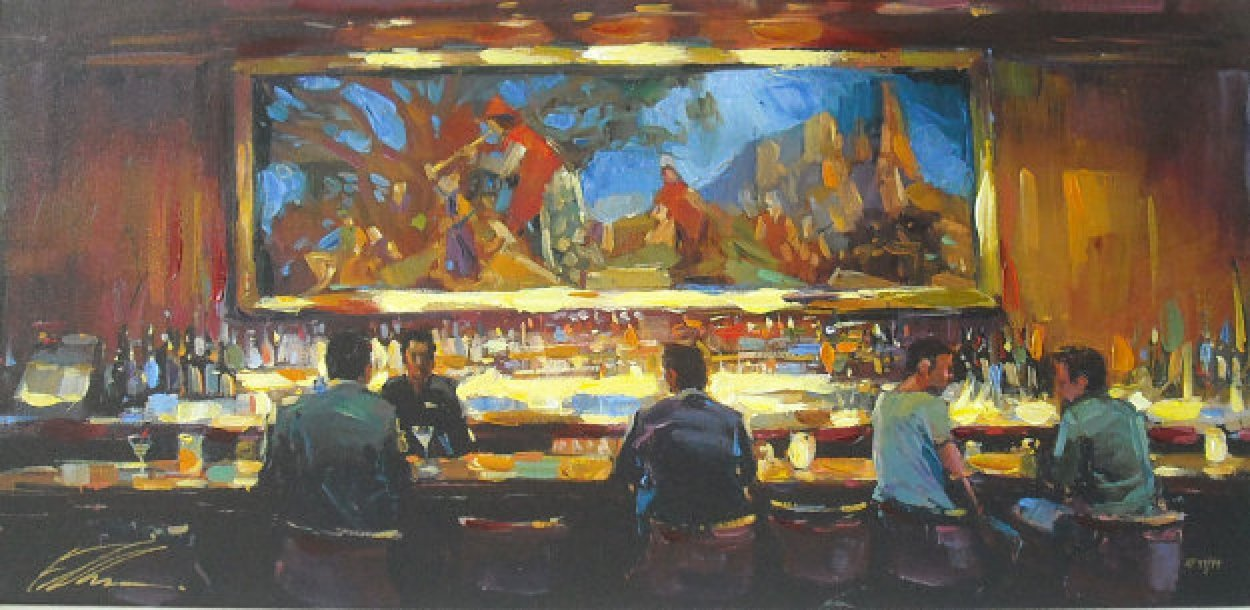 Martini Lounge AP 2008 Limited Edition Print by Michael Flohr