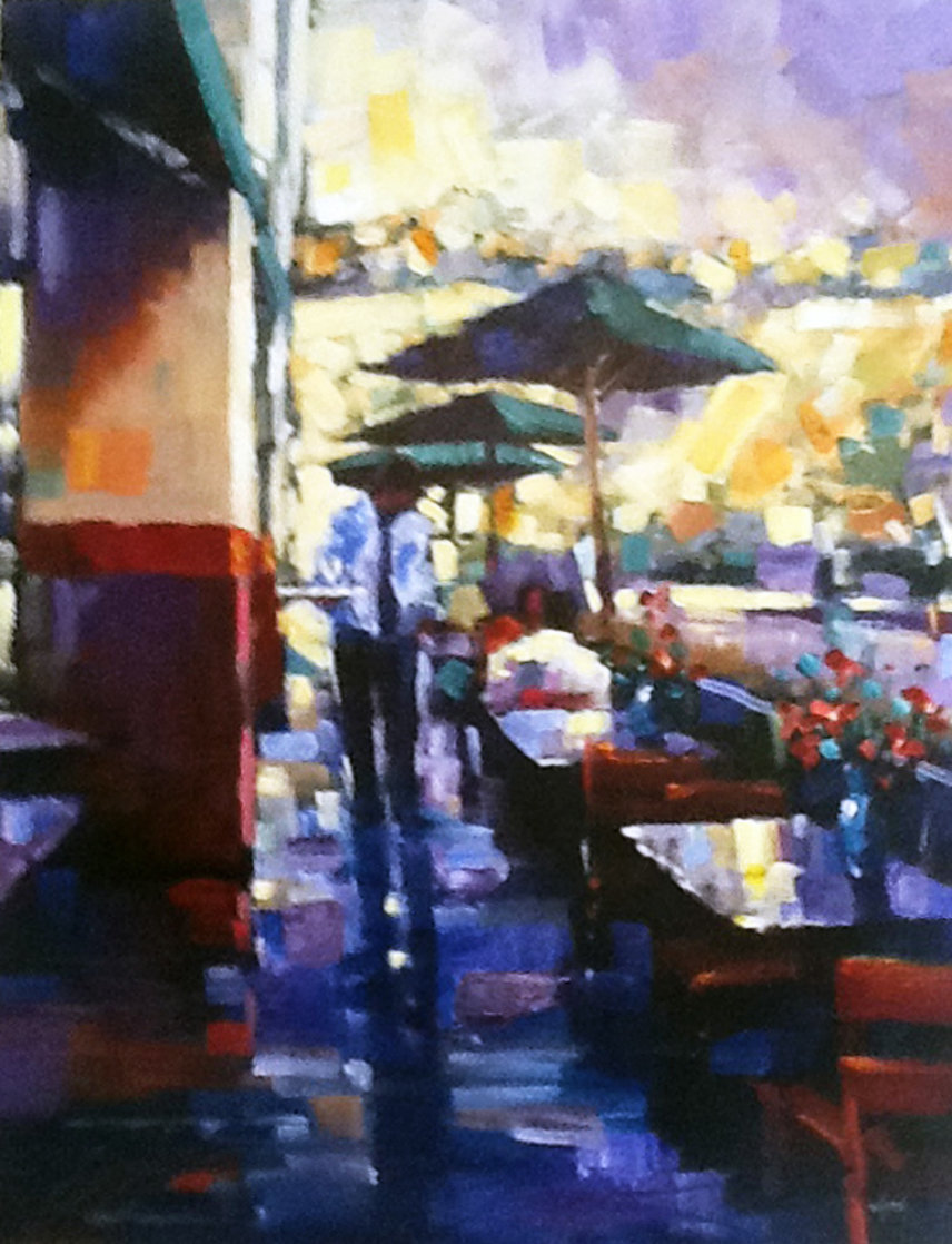 Lunch Date Embellished 2005 Limited Edition Print by Michael Flohr