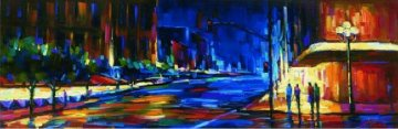 Uptown Embellished  2006 Super Huge Limited Edition Print - Michael Flohr