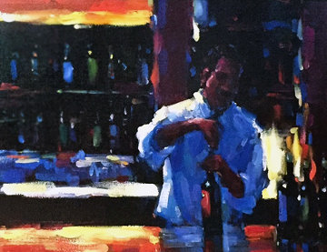 Uncorked 2007 Limited Edition Print by Michael Flohr
