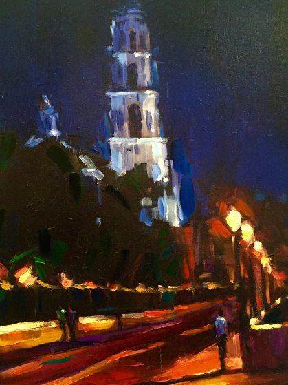 Bell Tower 2006 Embellished Limited Edition Print by Michael Flohr