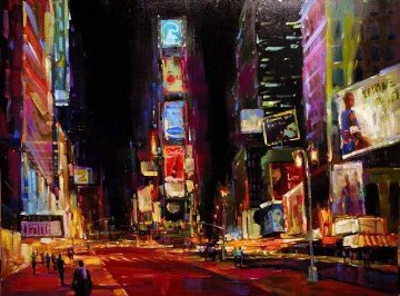 Good Times Square PP  2008 Huge Limited Edition Print - Michael Flohr