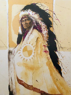 Red Tomahawk AP 1980 Limited Edition Print by Larry Fodor