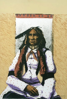Untitled (Portrait of a Native American Man) 1980 Limited Edition Print - Larry Fodor