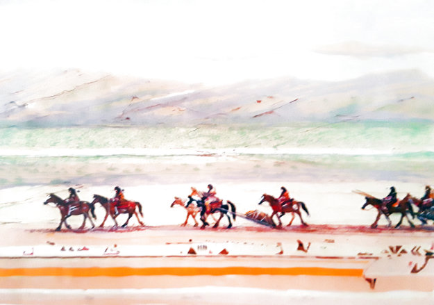 Journey Ponies 1980 Limited Edition Print by Larry Fodor
