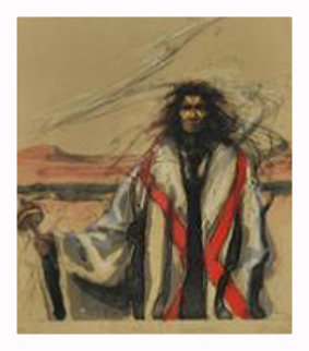 Dream Kachina #4, Cloud Maker 1984 Limited Edition Print by Larry Fodor