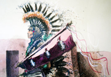 Dylan Eagle Chief 1984 Limited Edition Print by Larry Fodor