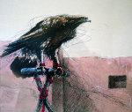 Pueblo Eagle 1984 Limited Edition Print - Larry Fodor