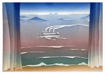 Toy Boat Limited Edition Print by Jean Michel Folon