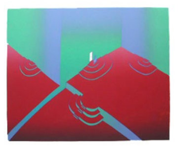 La Porte Blanche 1985 Limited Edition Print by Jean Michel Folon