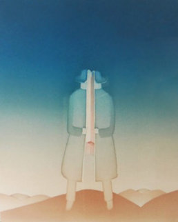 Le Secret 1976 HS  Limited Edition Print - Jean Michel Folon