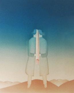 Le Secret 1976 Limited Edition Print by Jean Michel Folon