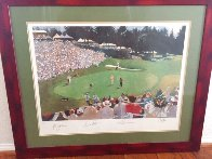 Golf Foursome At Oregon Country Club - HS By Arnold Palmer 1993 and HS by other 3 Limited Edition Print by Bart Forbes - 1
