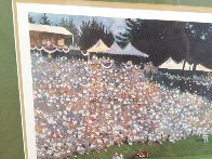 Golf Foursome At Oregon Country Club - HS By Arnold Palmer 1993 and HS by other 3 Limited Edition Print by Bart Forbes - 3