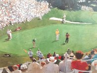 Golf Foursome At Oregon Country Club - HS By Arnold Palmer 1993 and HS by other 3 Limited Edition Print by Bart Forbes - 5