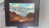 California Hills 2008 17x21 Original Painting by Dirk Foslien - 1