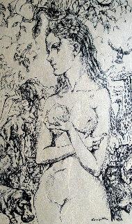 Eve 1959 Limited Edition Print - Tsuguharu Foujita