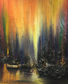 Untitled 30x24 Original Painting by Ozz Franca