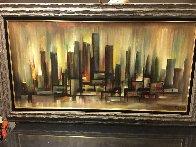 Untitled Landscape 32x56 Super Huge Original Painting by Ozz Franca - 1