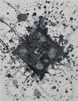Untitled Lithograph AP 1981 Limited Edition Print by Sam Francis
