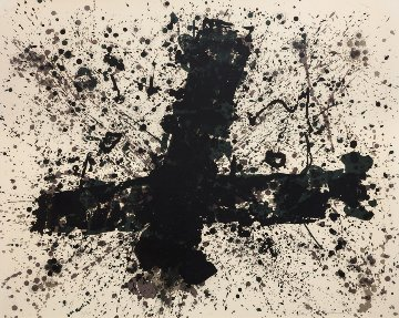 Burnout 1974 Limited Edition Print by Sam Francis