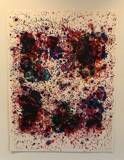 Spun For James Kirsch 1972 Limited Edition Print by Sam Francis