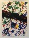 Untitled, From Michael Walberg Poemes Dans Le Ciel (Lembark 273) 1986 Limited Edition Print by Sam Francis - 2
