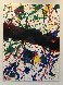Untitled, From Michael Walberg Poemes Dans Le Ciel (Lembark 273) 1986 Limited Edition Print by Sam Francis - 1
