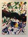 Untitled, From Michael Walberg Poemes Dans Le Ciel (Lembark 273) 1986 Limited Edition Print by Sam Francis - 3