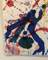 Untitled, From Michael Walberg Poemes Dans Le Ciel (Lembark 273) 1986 Limited Edition Print by Sam Francis - 4