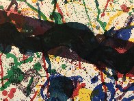 Untitled, From Michael Walberg Poemes Dans Le Ciel (Lembark 273) 1986 Limited Edition Print by Sam Francis - 7
