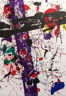 Untitled (Lembark 263) 1983 Limited Edition Print - Sam Francis