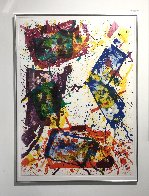 Untitled (Lembark 269) 1982 Super Huge Limited Edition Print by Sam Francis - 1