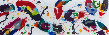 Untitled Aquatint  (Sfe 114) 1994 Limited Edition Print - Sam Francis